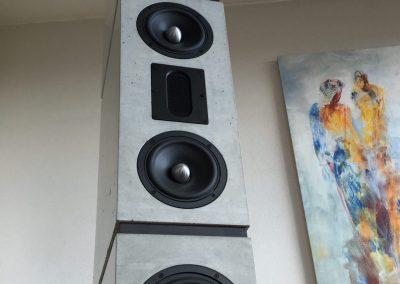 BETONart-audio Referenzlautsprecher modell DIVERSO