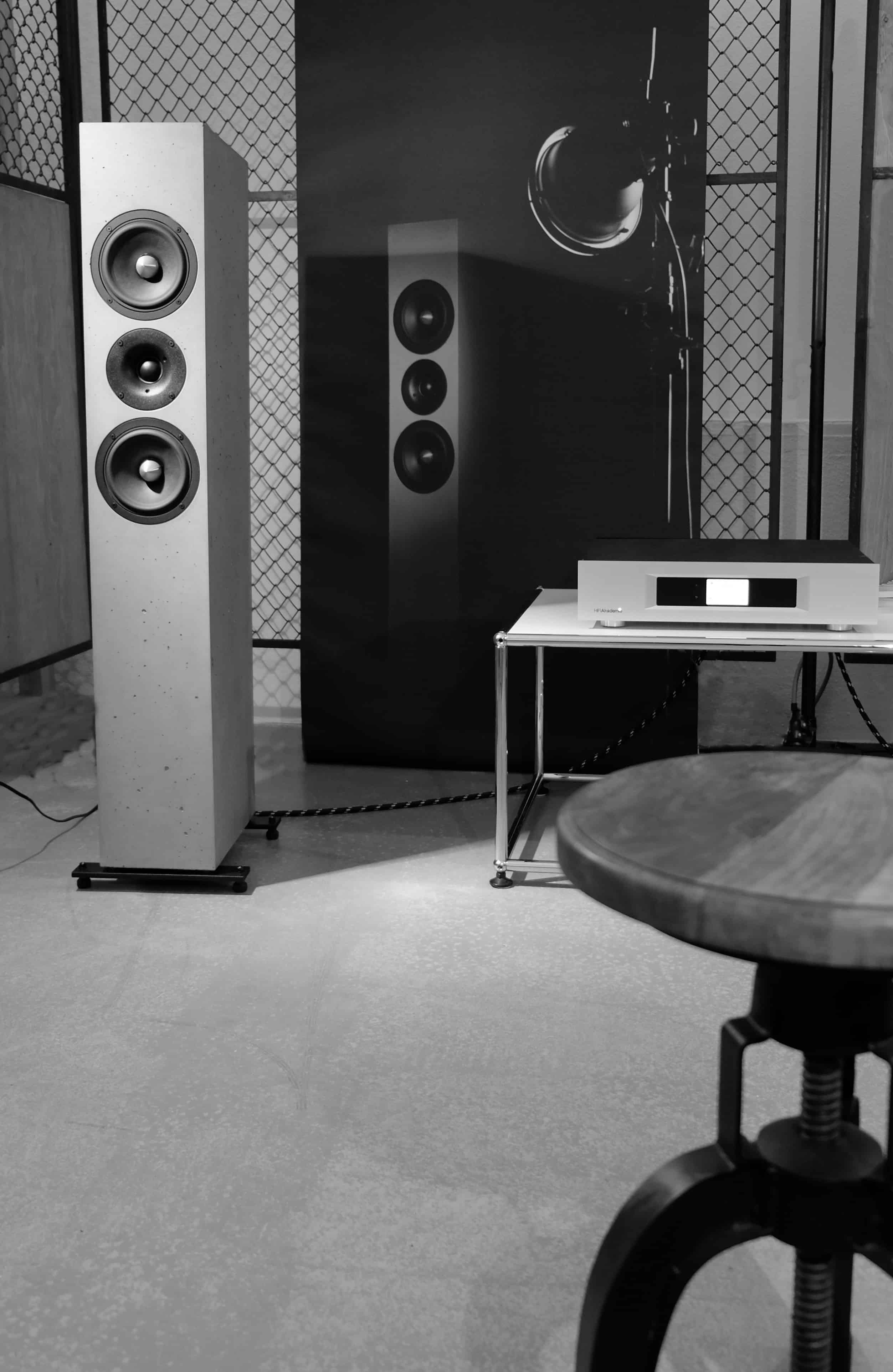 BETONart-audio auf der New Heritage in München - Praterinsel 2