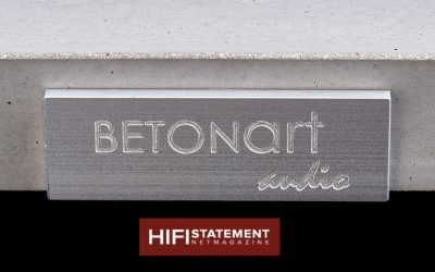 BETONart-audio Silenzio bei HIFISTATEMENT