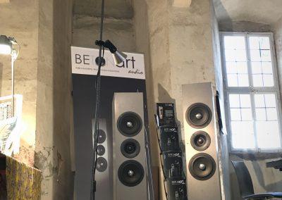 BETONart - audio auf der Fine Art Messe im Kloster Eberbach 3