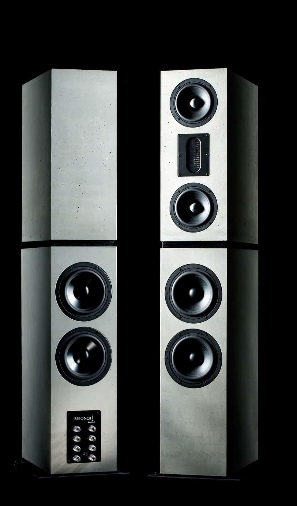 DIVERSA Betonlautsprecher Concrete Loudspeakers 1