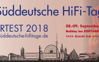 Süddeutschen HIFI-Tagen 2018 in Stuttgart – RAUM 211