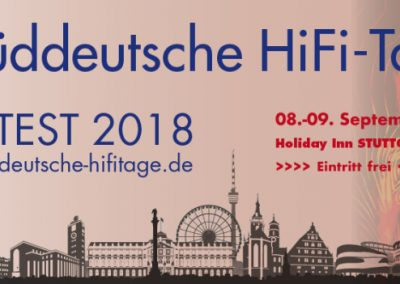 Süddeutschen HIFI-Tage 2018 in Stuttgart - RAUM 211 7