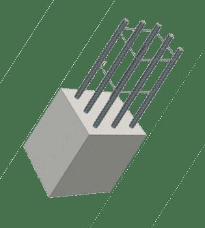 Details : Lautsprechergehäuse aus Beton