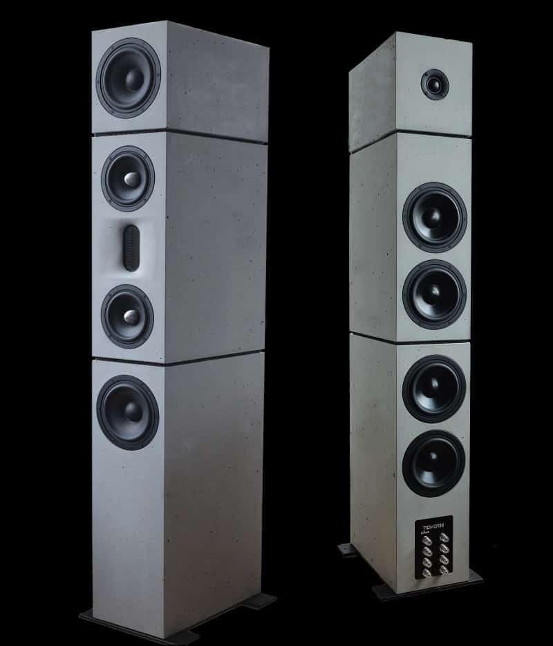 Lautsprecher aus Beton Produkte / Produktportfolio 10