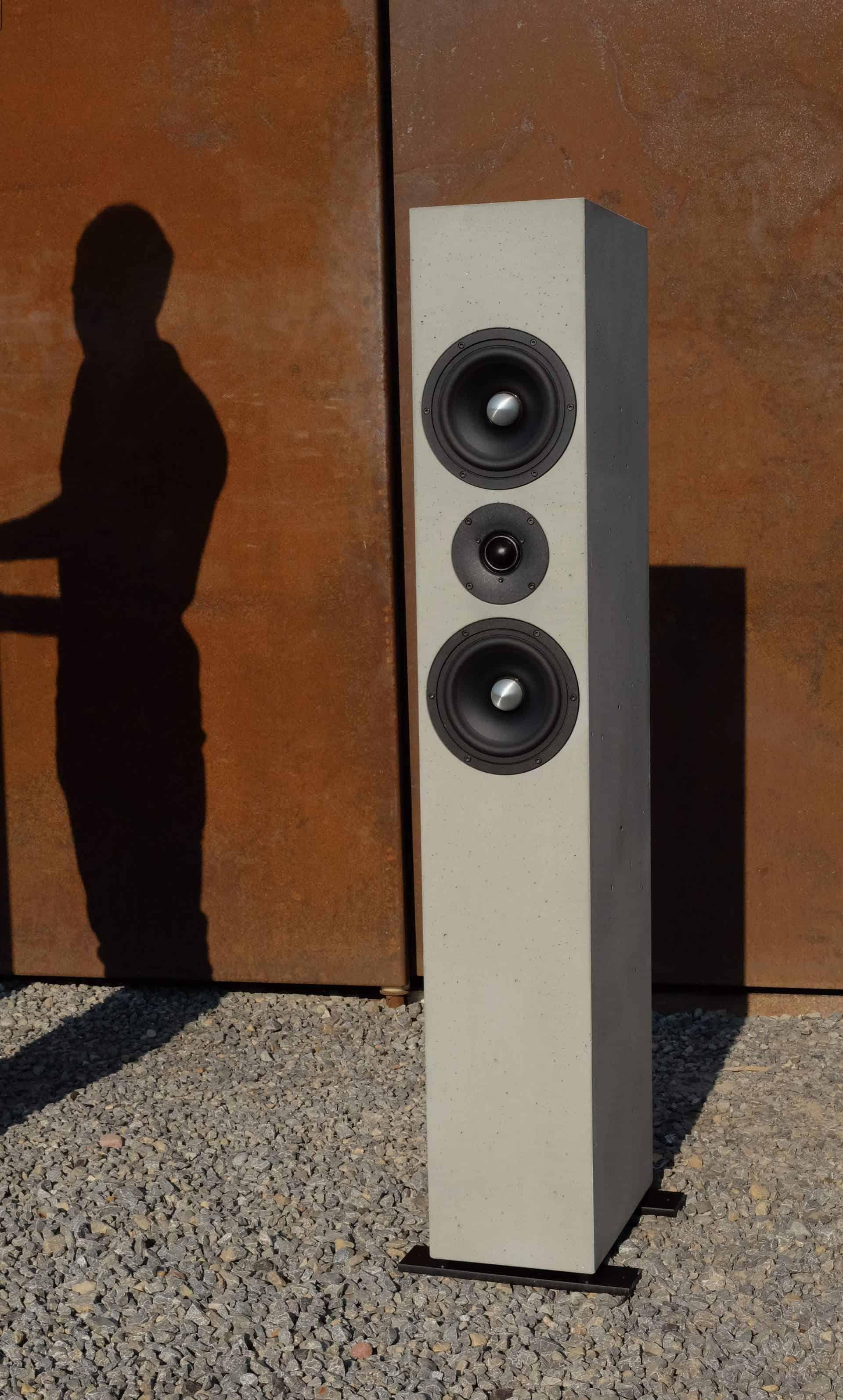 Lautsprecher aus Beton Produkte / Produktportfolio 4