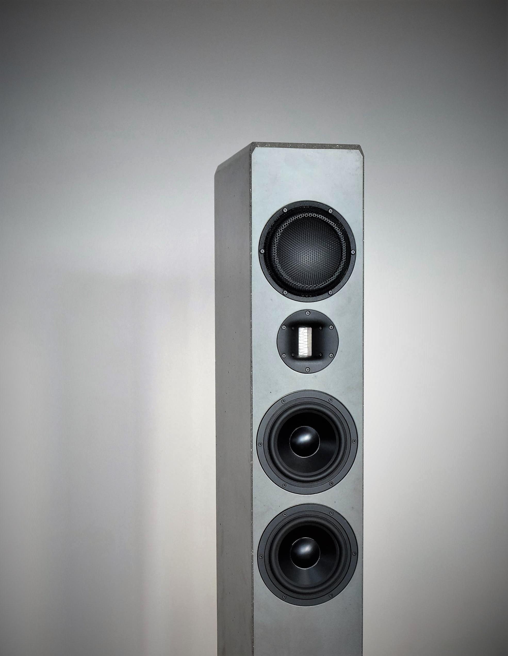 Lautsprecher aus Beton Produkte / Produktportfolio 8