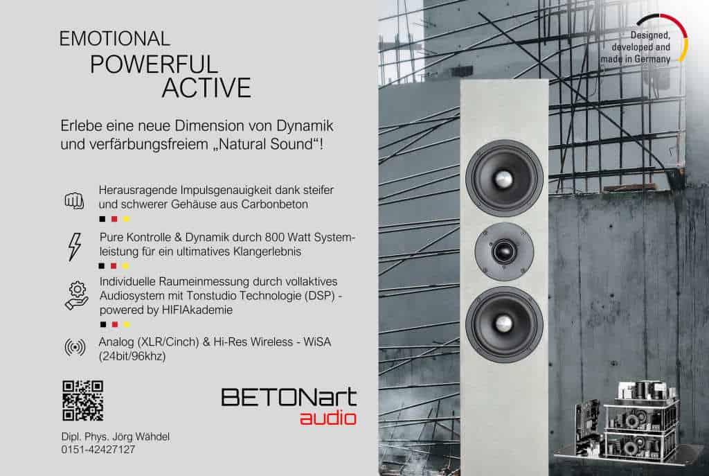 Vollaktiv & Tonstudio Technologie (DSP) & Wireless - Ab sofort für alle Modelle! 3